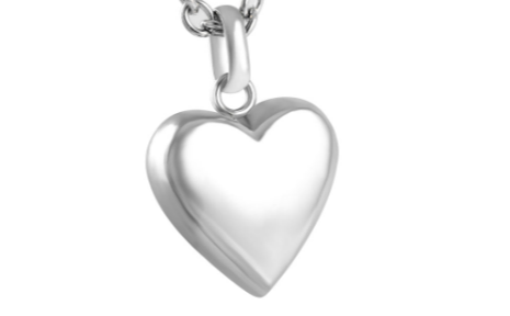Heart Pendant - Stainless Steel Image
